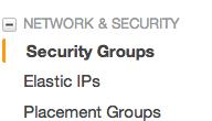 AWS security groups